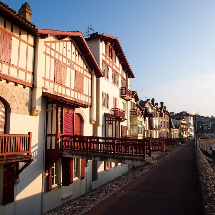 Day 1. Warm light on the appropriately named St-Jean-de-Luz