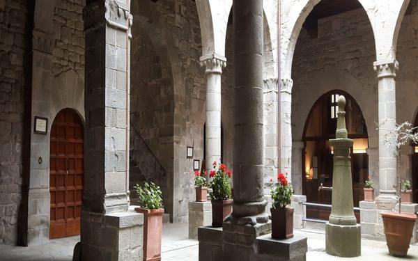 Cloisters of the Camaldoli Monastery