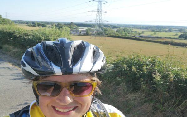 Happy cyclist!