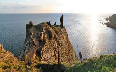 Eastern extension to St Abbs: Fast Castle on the Berwickshire Coast Path
