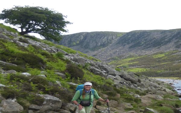 Following the River Tees across Falcon Clints up onto the moors (Day 5 - day 13 in the guide).