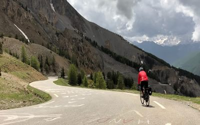 Descending the Col de l'Izoard