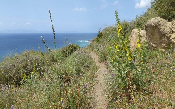 The coastal path close to Tarifa (Day 20)