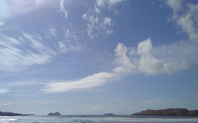 The beach at Derrynane Bay