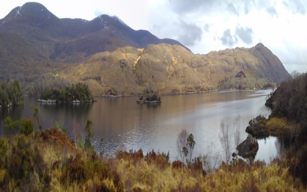 Upper Lake and Purple Mountain in the Killarney National Park