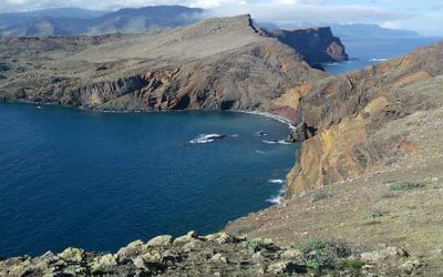 A splendid rocky ridge forms the peninsula of Ponta de São Lourenço