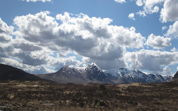 Scottish Highlands – a typical mountain scene