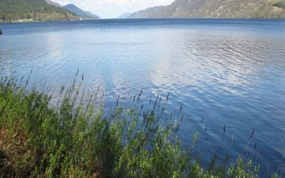 The immense Loch Ness