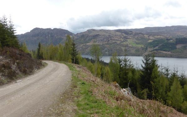 Views along Loch Ness