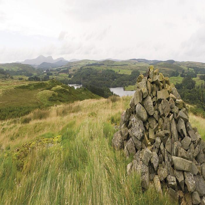 Loch Ken Seen From Waterside Hill Summit Stage 5