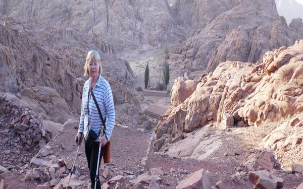 Ascending the steps of Mt Sinai