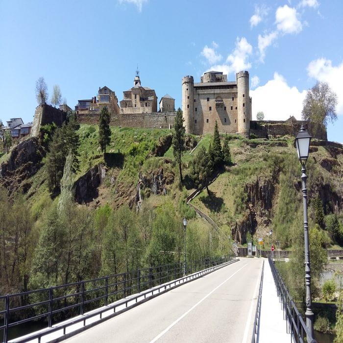 Castillo Puerta on the Camino Sanabres