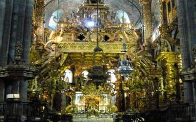 Pilgrim's Mass in Santiago Cathedral