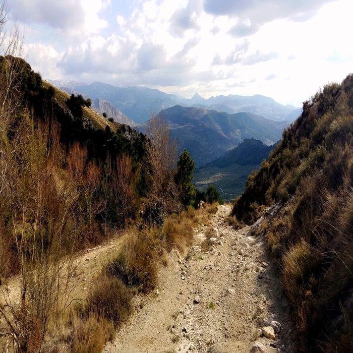 Quentar trail
