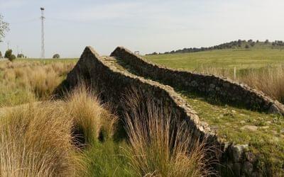 Roman bridge on the Via de la Plata