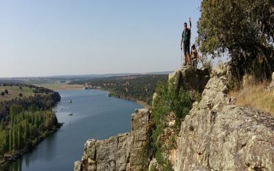 The Rio Esla gorge