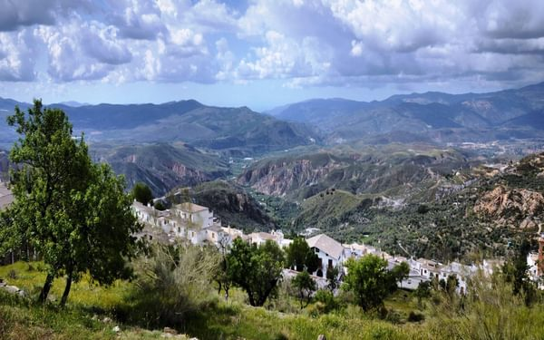 The view of the Sierra de Gador