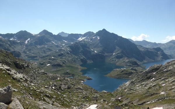 Views from the Collada de Dellui
