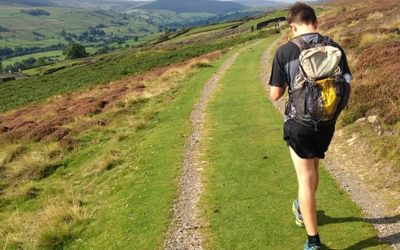 Navigating, and not running, on the 2017 OMM Lite based in Reeth (Swaledale)