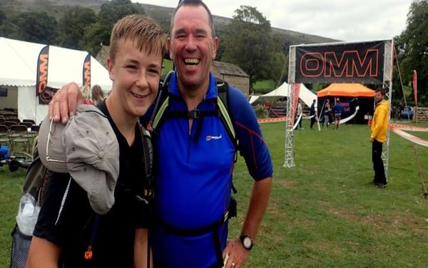 Smiles all round at the end of the 2017 OMM Lite