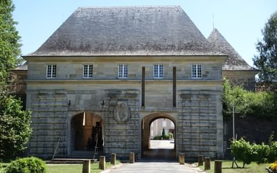 17th century Porte de France entry to Marsal (Lorraine)