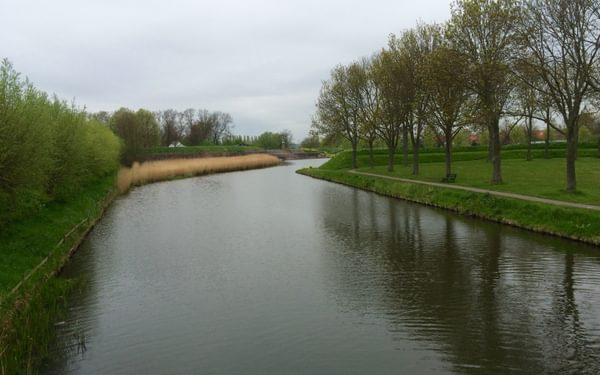 Brielle ramparts and moat