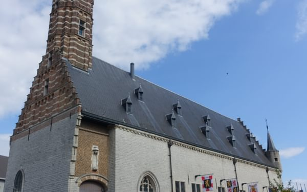 Lakenhal in Herentals (Flanders)