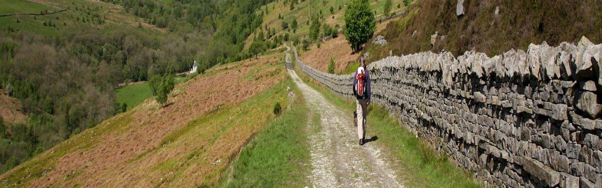 Banner Walking In Geltsdale