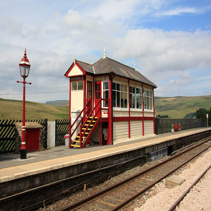 Walk1A The Wild Boar Fell Walk Starts From Garsdale One Of The Highest Mainline Railway Stations In England
