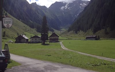 The Tux Alps to the south east of Innsbruck offer delightful walking in quiet valleys