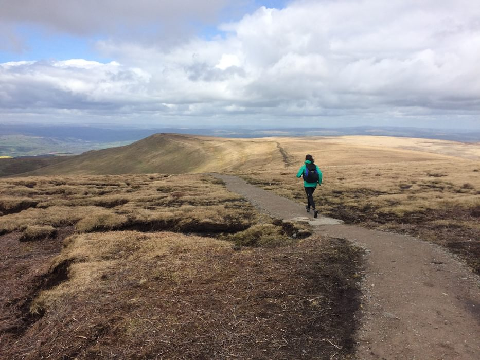 Fastpacking in the Black Mountains of Wales
