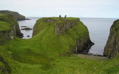 Walk 1 03 Dunseverick Castle