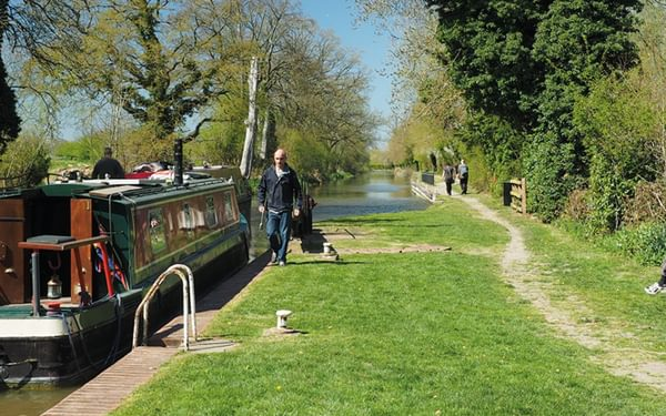 Wire Lock, between Kintbury and Hungerford