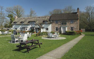 The Cunning Man pub at Burghfield Bridge