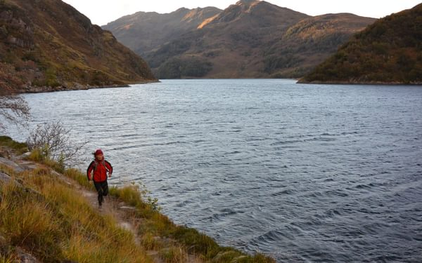 Cut-off from the road network, Knoydart is a great place to explore by fastpacking. Photo by Chris Councell.