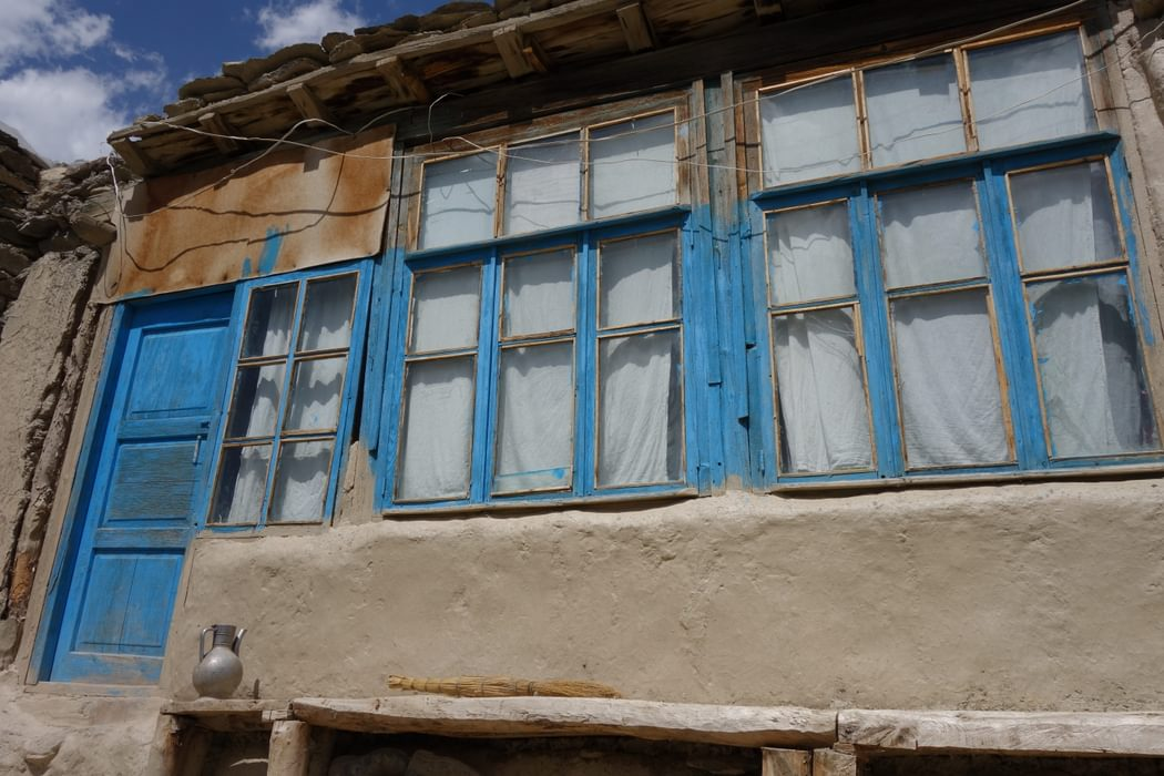 A typical homestay in northern Tajikistan