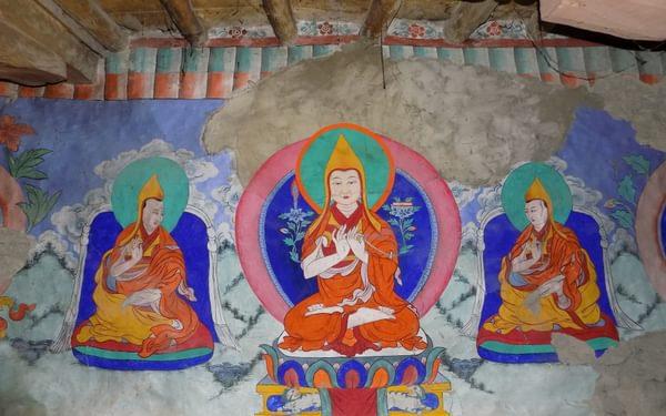 12 Ancient Art At Ensa Monastery
