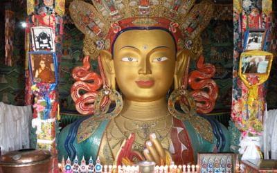 23 Thikse Maitreya Buddha Of The Future
