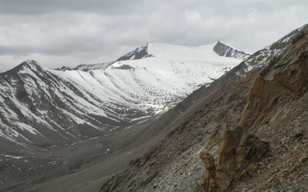 4 Glacier Above The Khardung La Pass