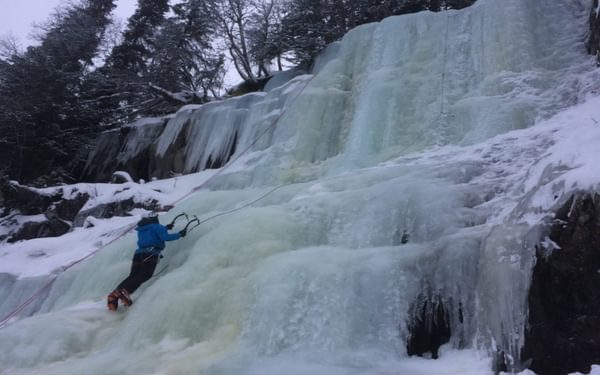 Rjukan has over 192 frozen waterfalls throughout its 6-month winter season, providing over 150 ice-climbing routes.