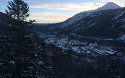 Rjukan is situated in a large U-shaped valley sitting at 303m above sea level, with the towering summit of Gaustatoppen (1,883m) looming above.
