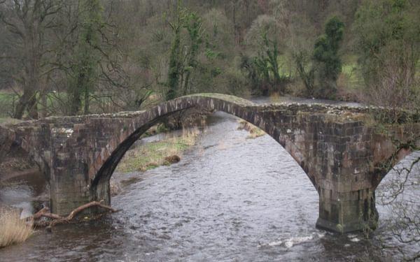 Cromwell's Bridge over the River Hodder