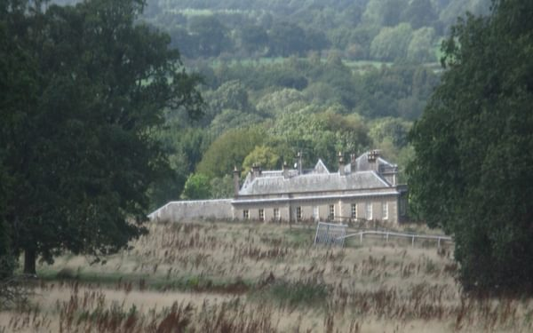 Cromwell's army camped in the parkland of Gisburn Hall
