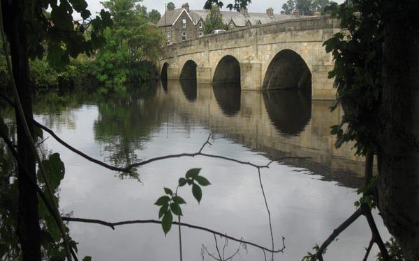 Otley Bridge over the River Wharfe