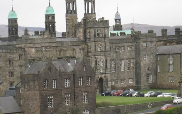 Stonyhurst College - Cromwell stayed the night in the Hall