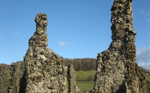 The ruins of Sawley Abbey