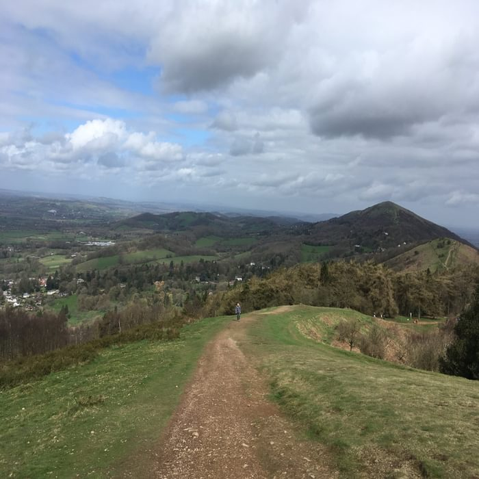 The Malverns. Excellent ridge walking
