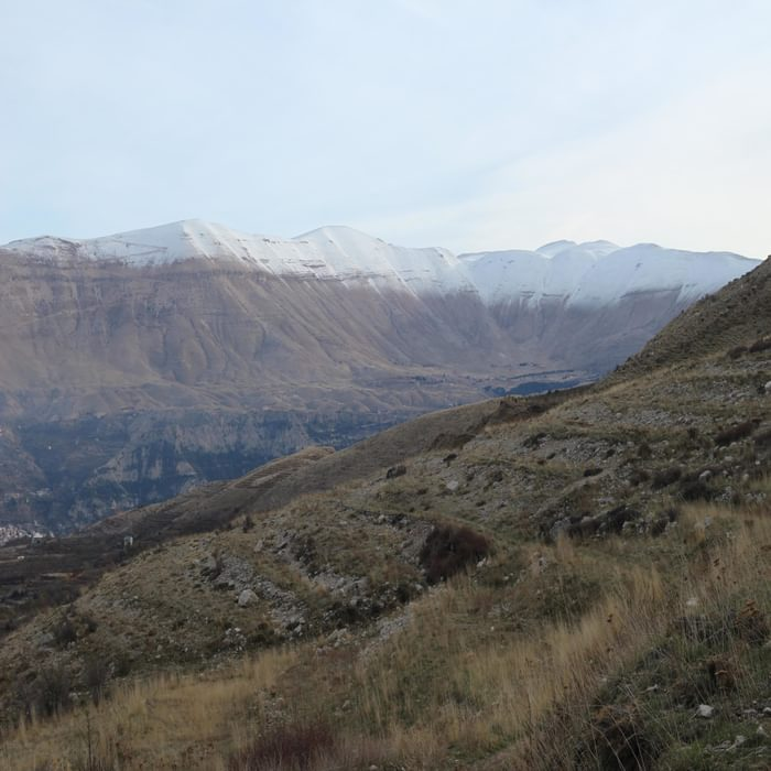By mid-November winter is imminent in the Lebanese mountains