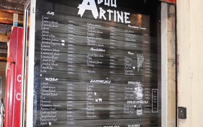 No shortage of menu choices in Faraya