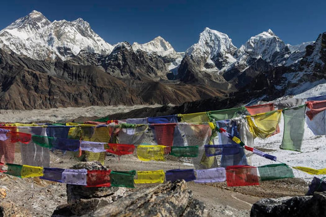 Everest Nuptse Lhotse Makalu Cholatse Taboche The View From Renjo La Trek 5 Section 8